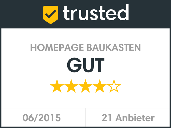 trusted - Homepagebaukasten